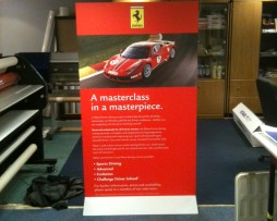 Ferrari pop up stands