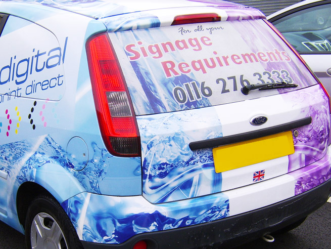 Digital Print Direct Vehicle