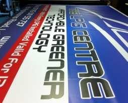 Banner During Print