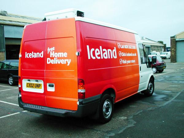 Iceland van