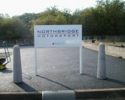 Northbridge Post Fixed Sign