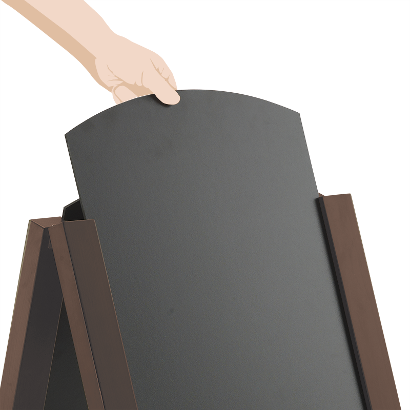 Rounded Chalkboard