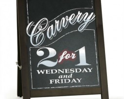Rounded Chalk Board