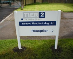 Teir 2 Post FIxed Sign