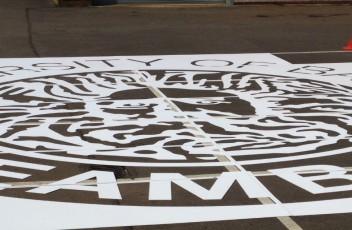 University Of Bath Stencil (Banner)