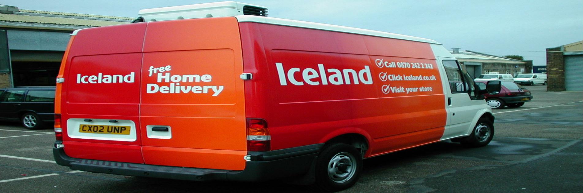 Iceland Van (Banner)