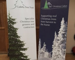 Cadeby Tree Trust Pop Up Stands