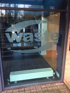 Bakers Waste Window Frosting