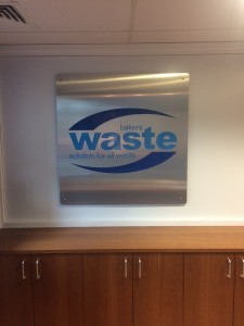 Bakers Waste Internal Sign