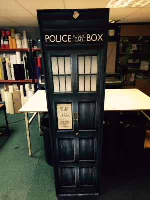 Police Box Coffin