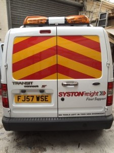 Syston Freight Van