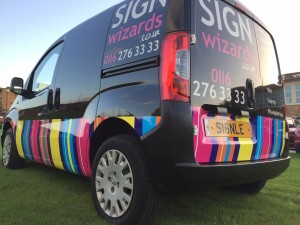 Sign Wizards Van