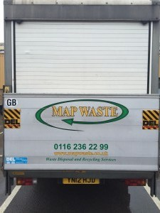 Map Waste Van