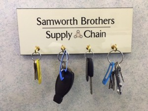 Samworth Brothers Key Holder