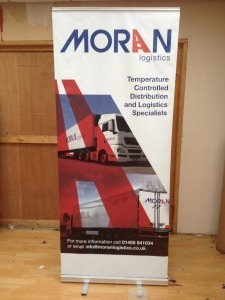 Moran Pop Up Display