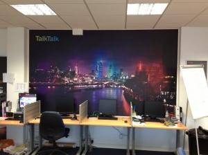 Talk Talk Wall