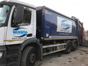 Bakers Waste   Vehicle Graphics