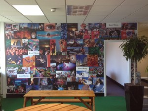 Leicester Mercury Wall