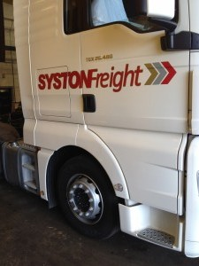 Syston Freight Trailer