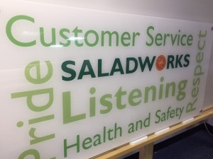 SaladWorks Sign