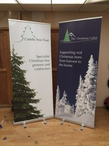 Cadeby Tree Trust Pop Up Display