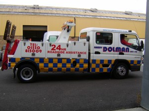 Harry Dolman Truck