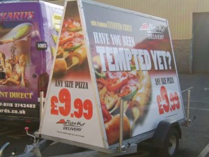 Pizza Hut Advertisement
