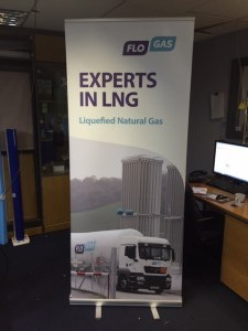 Flo Gas Pop Up Display