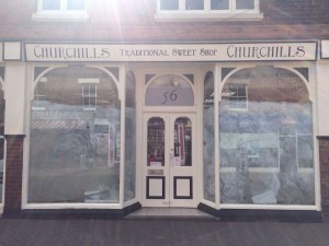 Churchills Sweet Shop