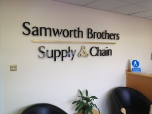 Samworth Brothers Sign