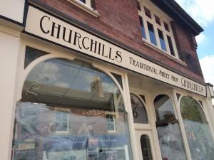 Churchills Sweet Shop