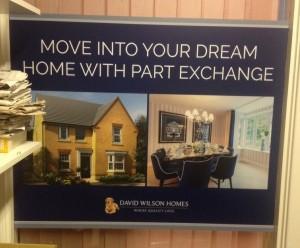 Davis Wilson Homes Sign