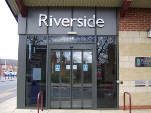 Riverside Primary School Sign